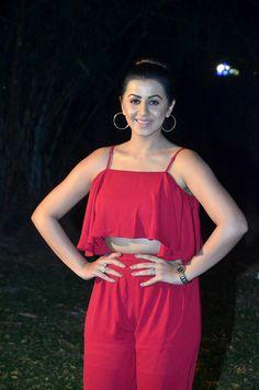 Nikki Galrani Very Hot In Red Sexy Dress At Pakka Movie Teaser Launch Event Punjabi Actress, Movie Teaser, South Indian Actress, Latest Movies, Indian Actresses, Sexy Dresses, Camisole Top, Product Launch, Tank Tops