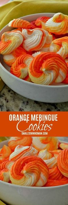 Selecting The Suitable Cheeses To Go Together With Your Oregon Wine Meringue Cookies Orange Cookies Holiday Cookies Meringue Recipe Using Egg Whites Small Town Woman Favorite Cookie Recipe, Best Cookie Recipes, Best Dessert Recipes, Fun Desserts, Delicious Desserts, Yummy Food, Recipes Dinner, Pasta Recipes, Breakfast Recipes