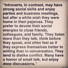 If you're an introvert, follow @introvertunites.