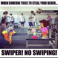 Lol! Swipers everywhere!