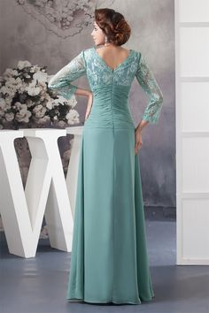 New Arrival 2015 Dresses For Wedding Mother Of The Bride Formal Long Elegant Appliques Chiffon Plus Size Vestido Mother Dresses