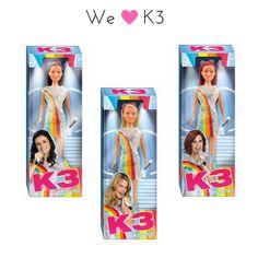 Met deze tienerpoppen kan je samen met de meiden van K3 een band vormen, zing er op los samen met Hanne, Marthe en Klaasje.