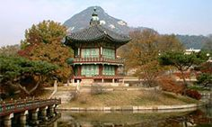 Gyeongbok Palace.  This is the largest and most spectacular palace in Korea.  It was the main palace of the Joseon dynasty.
