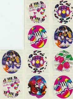 Vintage Lisa Frank Stickers