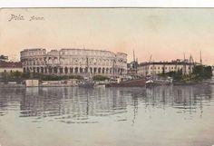Pula, 1918 Austro Hungarian, Pula, Paris Skyline, Travel, Viajes, Destinations, Traveling, Trips