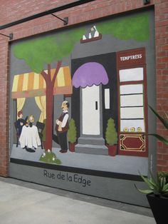 1000 Images About Not Just For Kids Rooms On Pinterest Murals Paris Street And Shopping Center