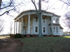 Abandoned Southern Mgoansion by rdames, via Flickr > I'd renovate this and sit on the porch with some lemonade.