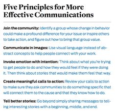 Five principles based in social science that will help organizations connect their work to what people care most about. Creative Communications, Effective Communication, Social Science, Inspire Others, Professional Development, Global Warming, Climate Change, Behavior, Language