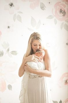 Feminine newborn photos