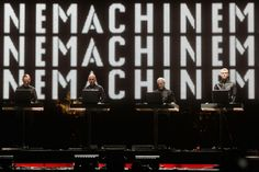 """""""Now [the """"Catalogue"""" showcase] is done, one to eight. Now we can concentrate on number nine"""" --Ralf Hutter of Kraftwerk (New Kraftwerk album in the works?)"""