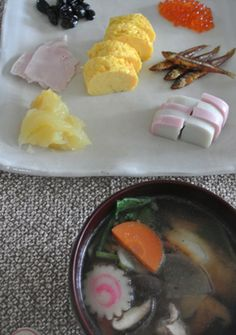 Japanese traditional New Year's meal