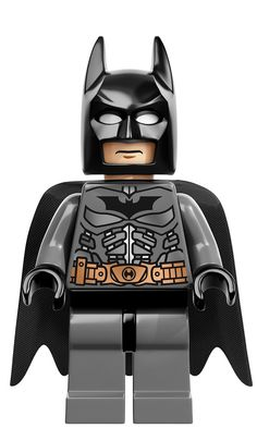 New LEGO DC Superheroes Minifigures - Batman---his abs are not real --his torso does not even bent.. we should have our abs painted --would save some time at the gym lol