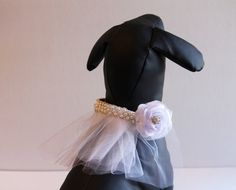 Lavender wedding dog collar - because I know that Turnip and Shasta are going to be your flower girl and ring bearer.