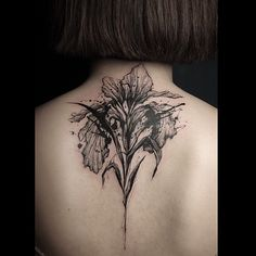 Work from Carpet Bombing Ink - Seoul, Korea - #tattoo #ink #floral