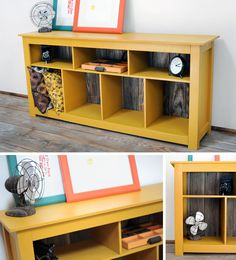 DIY Entertainment Stand – Ruff House Art Style!