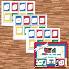 Multiplication Uno for $1.50
