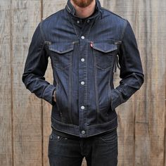 Levi's Commuter Trucker Jacket with Hood. wow #liveinlevis www.stoermenswear.nl