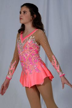 A beautiful figure skating dress!