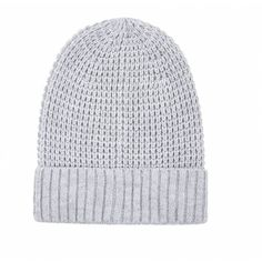 Ally Fashion Chunky knit beanie ($7.30) ❤ liked on Polyvore