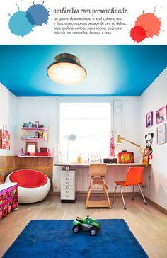blue ceiling #ceiling #decor