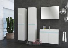 zestaw mebli łazienkowych Nala JustMeble - Nowoczesne meble sypialniane, pokojowe, dziecięce, młodzieżowe i systemowe - internetowy sklep