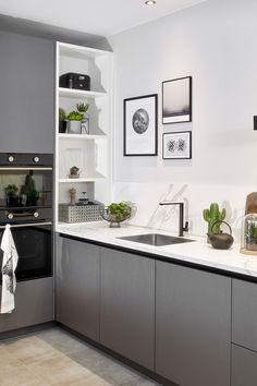 Modern Kitchen Cabinets, Modern Kitchen Design, Best Kitchen Designs, New Kitchen Interior, Kitchen Decor, Home Interior Accessories, Open Plan Kitchen Living Room, Pantry Design, Küchen Design