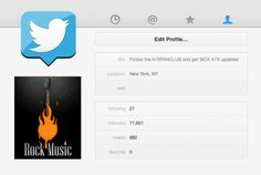promote your rock band to my 77k followers by jaycesin