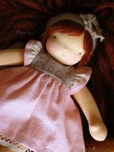 Custom 12 waldorf doll RESERVED for Karynfinal payment by Puppula
