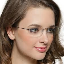 Image result for rimless glasses Women