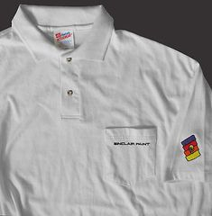 Sinclair Paint Pocket Polo Shirt XL NW