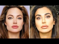 What Do You Guys Think: My Angelina Jolie Inspired Makeup Tutorial!| مكياج أنجلينا جولي - YouTube