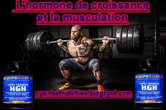 Sport et Nutrition: L'hormone de croissance et la musculation