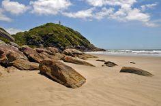 De Fora Beach, Ilha do Mel, Paraná, Brazil.
