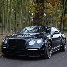 All Black Bentley Coupe