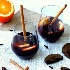 "Old-Fashioned Swedish Glogg | ""This is a must during the winter holidays in our house. You can also serve raisins and dried cranberries soaked in dark rum on the side along with the slivered almonds. A truly wonderful drink that will get a lot of comments from those who may not be familiar with it. A definite party maker!!!"""