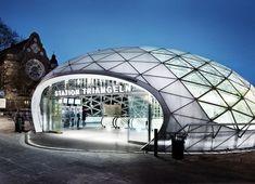 Triangeln Train Station Design: Sweco Architects AB + KHR Arkitekter
