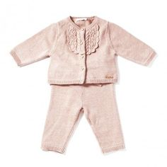 Chloe Kids Cardigan and trouser baby set