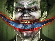 Batman: Arkham Asylum Art & Pictures  Joker Promo Artwork