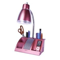 iHome iHL24-Black Colortunes Desk Organizer Speaker Lamp with iPod Player Compartment, Black (Tools & Home Improvement)