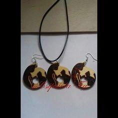 Cicás nyaklánc fülbevalóval..Azoknak akik a cicákat szeretik😊akik nem...azoknak más  formában akár egyedi mintával is kérhető! #ékszer… Washer Necklace, Jewelry, Jewlery, Jewerly, Schmuck, Jewels, Jewelery, Fine Jewelry, Jewel