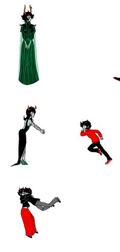 Homestuck Dollorosa and Sufferer Porrim and Kankri Kanaya and Karkat THIS IS TOO CUTE NOT TO REPIN!