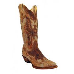 Ferrini Ladies Chocolate Eagle Inaly Boots V-Toe 81761-09