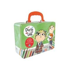 Charlie And Lola: Series 1 Collector's Tin Edition Lunch Box Set (4 Discs)