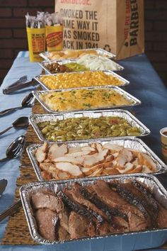 24 Charming Backyard BBQ Wedding Ideas For Low-Key Couples - Wedding Catering - Wedding Buffet Food, Wedding Reception Food, Wedding Catering, Wedding Menu, Wedding Ideas, Food Buffet, Reception Ideas, Buffet Ideas, Fall Wedding