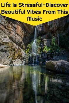 Discover beautiful vibes from this music to overcome life's stressful moments to enhance happiness, awareness and better life.  #life #stressful #discover #beautiful vibes #relaxing music #motivational #meditation music #enhance #happiness #inspirational #awareness #better life #soothing music #nature #water falls #flute