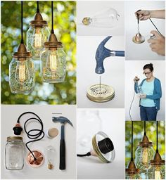 DIY Make Mason Jar Lights
