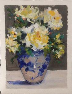 Laurie Johnson Lepkowska Gallery of Original Fine Art Pure Fun, Fine Art Gallery, Brush Strokes, Gouache, Watercolor Paper, Art For Sale, Impressionist, Landscape Paintings, Peonies