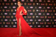 Every Single Dress From the 2018 Brownlow Medal Red Carpet Nice Dresses, Formal Dresses, All Things, Red Carpet, Photo Galleries, Celebrities, Events, Tunics, Ballet