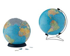 PUZZLE BALL - THE EARTH | 3D Globe Puzzle, World Map Puzzleball | UncommonGoods - Marcus