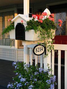 A Mailbox garden! Love it!  source: Eden Makers blog